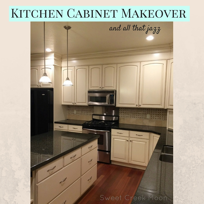Kitchen cabinet makeover 2015 sweet creek moon for Kitchen cabinets makeover